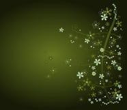 kwiaty tła green Fotografia Stock