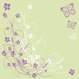 Kwiaty, tło Zdjęcia Stock