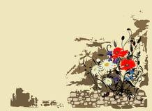 kwiaty tła lato ilustracji