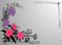 kwiaty tło ilustracji