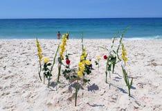 Kwiaty umieszczają jako ofiary obrazy royalty free