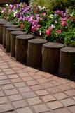 Kwiaty w kwadracie Zdjęcia Stock