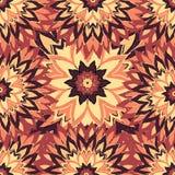 Kwiaty w roczników kolorach w nakreślenie stylu Zdjęcie Stock
