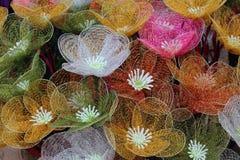 Kwiaty w sztuce Obrazy Royalty Free