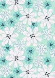 Kwiaty z zaszywaniem. Obraz Stock