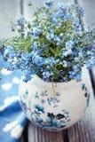 kwiaty zapominają ja nie Obrazy Stock
