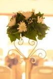 Kwiaty zgłaszają wystrój zdjęcia stock