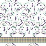 kwiaty zrobili tablecloth Obrazy Royalty Free