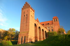 Kwidzyn大教堂,波兰 库存照片