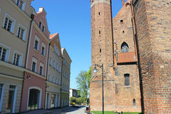 Kwidzyn castle and cathedral. Poland Royalty Free Stock Images