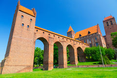 Kwidzyn castle and cathedral Royalty Free Stock Images