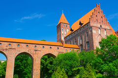 Kwidzyn castle and cathedral Stock Photo