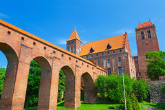 Kwidzyn castle and cathedral Royalty Free Stock Photos