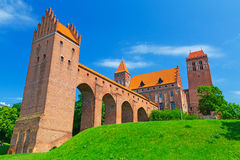 Kwidzyn castle and cathedral Stock Photos