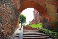Kwidzyn castle Royalty Free Stock Image