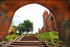 Kwidzyn castle Royalty Free Stock Photography