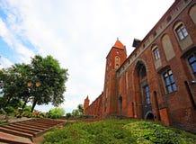 Kwidzyn castle Stock Images