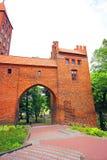 Kwidzyn castle Royalty Free Stock Images