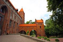 Kwidzyn castle Stock Photography