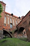Kwidzyn castle, Poland Royalty Free Stock Photo
