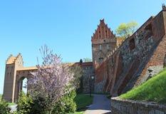 Kwidzyn cathedral. Medieval castle. Poland Stock Photo