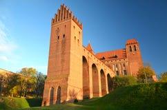 Kwidzyn domkyrka, Polen Arkivfoto