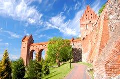 Kwidzyn domkyrka, Polen Fotografering för Bildbyråer