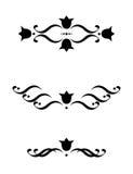 kwieciści ornamenty royalty ilustracja