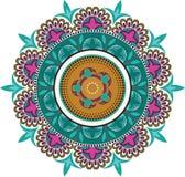 Kwieciści kolorów wzory Obrazy Royalty Free
