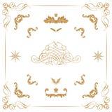 Kwieciści elementy Obraz Royalty Free