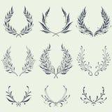 Kwieciści wianków ornamenty Zdjęcia Royalty Free