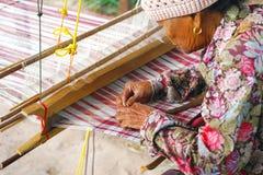 Kwiecień 07, 2018 - Mahasarakham prowincja, TAJLANDIA: Stary Tajlandzki wom Obraz Royalty Free