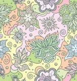 kwiecista bezszwowa tekstura ilustracji