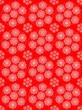 kwiecista deseniowa czerwień Obrazy Stock