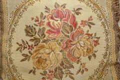 Kwiecista deseniowa makaty tkanina Obraz Royalty Free