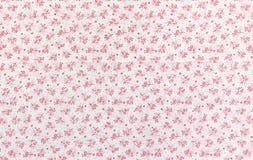 Kwiecista deseniowa tkanina Fotografia Stock
