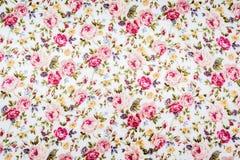 Kwiecista deseniowa tkanina Obrazy Royalty Free