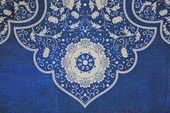 Kwiecista deseniowa tkanina Zdjęcia Royalty Free