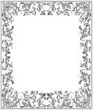 kwiecista element rama Obrazy Royalty Free