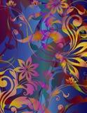 kwiecista harmonia ilustracji