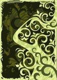 kwiecista ilustracja Obrazy Stock