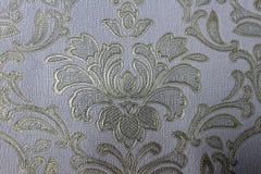 Kwiecista tło tapeta na ścianie zdjęcia stock