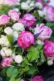 Kwieciste dekoracje Zdjęcia Royalty Free