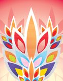 kwieciste ilustracyjne tekstury Fotografia Royalty Free