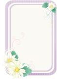 kwieciste ramowe purpury Obraz Royalty Free