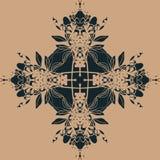 Kwiecistego deseniowego ornamentu wektorowa ilustracja eps10 Zdjęcia Stock