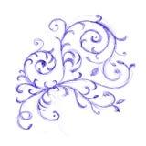kwiecistego ornamentu nakreślenie ilustracji