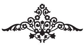 kwiecistego ornamentu strona Zdjęcia Royalty Free