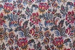 kwiecistego ornamentu wzoru makaty tkanina Obrazy Royalty Free