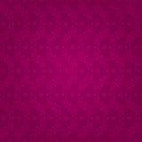 Kwiecistego rocznika bezszwowy wzór na różowym tle Ilustracja Wektor